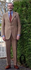 Sublime tweed suit