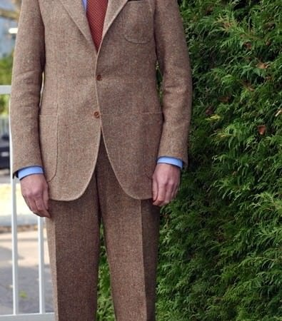 Sublime tweed suit