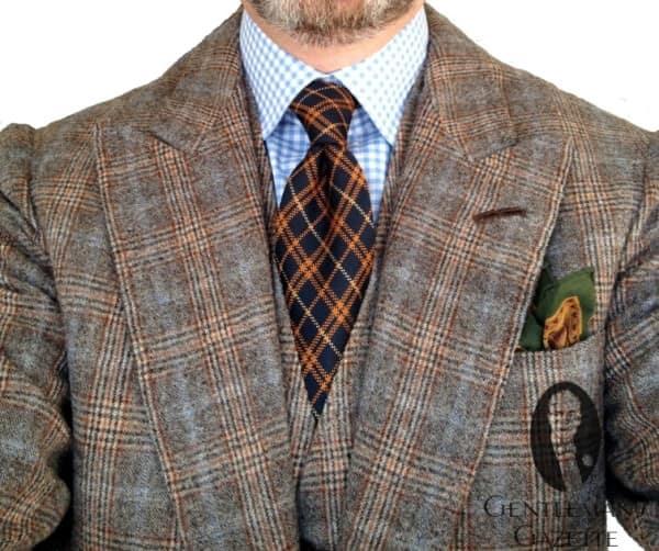 Vintage cloth suit