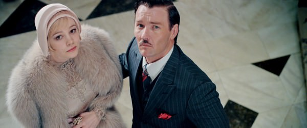 Daisy & Tom Buchanan in Fur and Pinstripe suit
