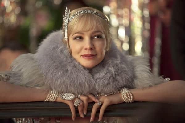 Daisy with fur, pearls & diamonds