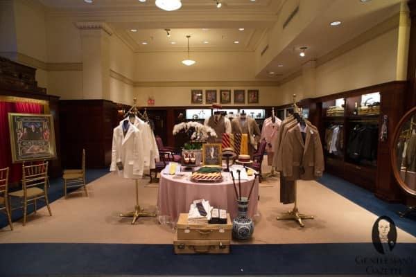 First floor Gatsby display