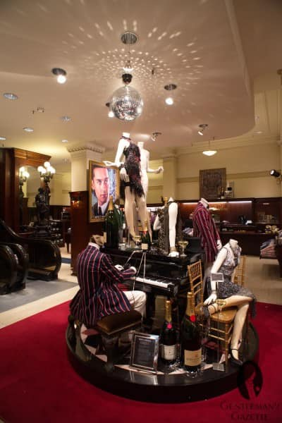 Gatsby Club blazer display at Brooks Brothers on Madison Ave