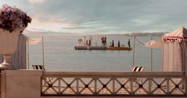Gatsby & Daisy enjoying a day in the bay
