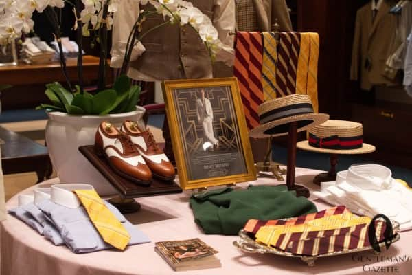 Gatsby collection accessories & spectator shoes