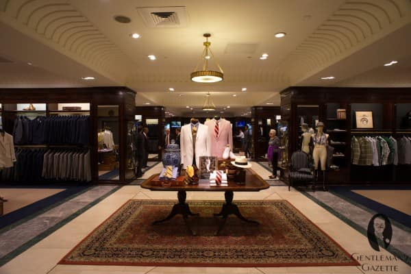 Gatsby collection at the 5th floor Brooks Brother 346 Madison Ave