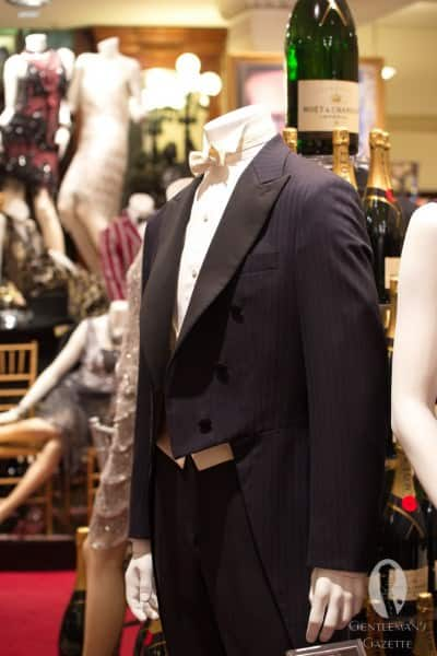 Midnight blue herringbone tailcoat from the movie - not available to the public