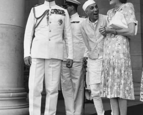 Nehru jacket inspired uniform