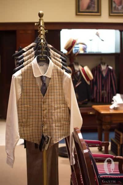 Tattersall & Ginham inspired vest