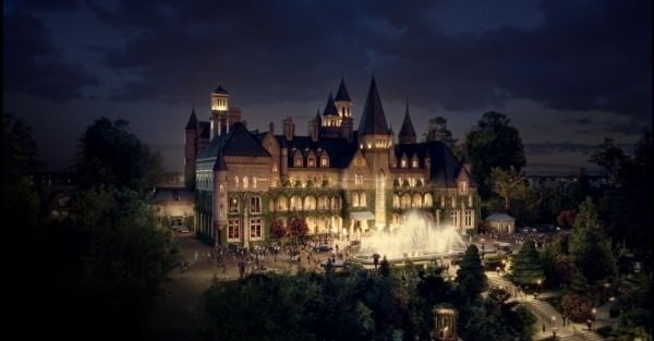 The Gatsby castle