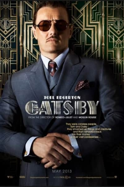 The Great Gatsby poster with Tom Buchanan