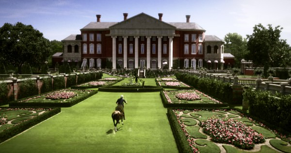 The gorgeous Buchanan residence
