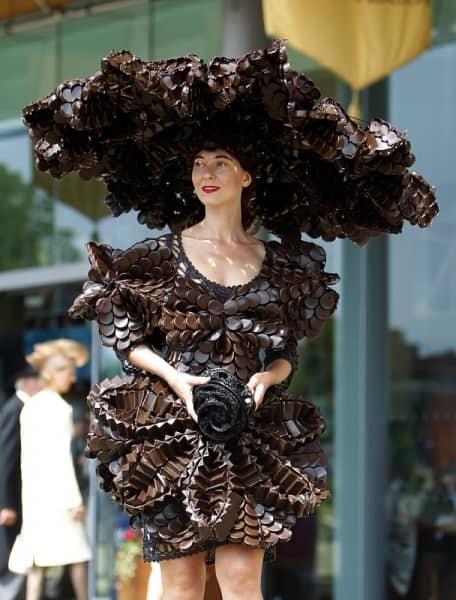 Larisa Katz in crazy dress