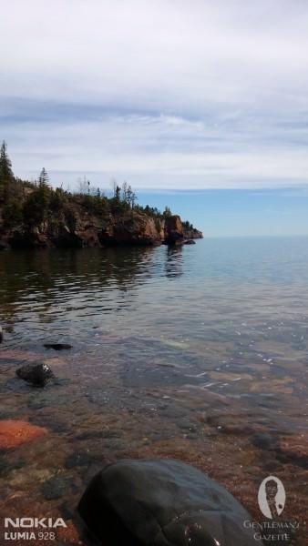 Lake Superior Shore View