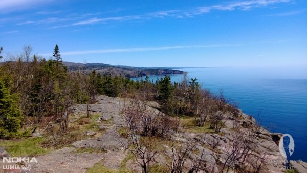 Lake Superior from Palisade Head