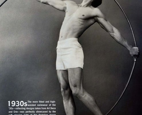Reduced Swim Trunk in the 1930s