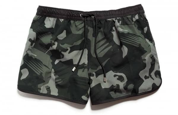 Zara Camouflage swim trunks $35.90