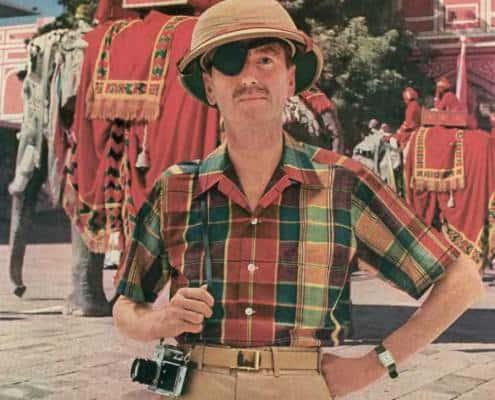 1954 Hathaway Madras Shirt Ad