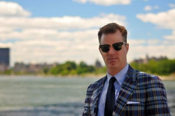 Christian Chensvolfd from Ivy Style in Madras sport coat