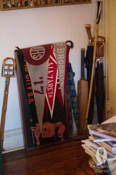College memorabilia