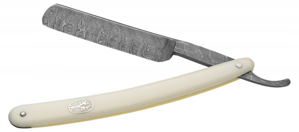 Damascus Steel Straight Razor by Böker