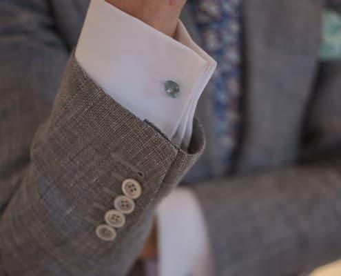 Double Cuffs & precious cuff links