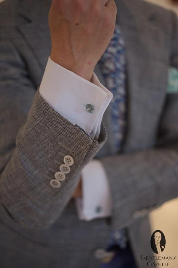 Double Cuffs & precious cuff links