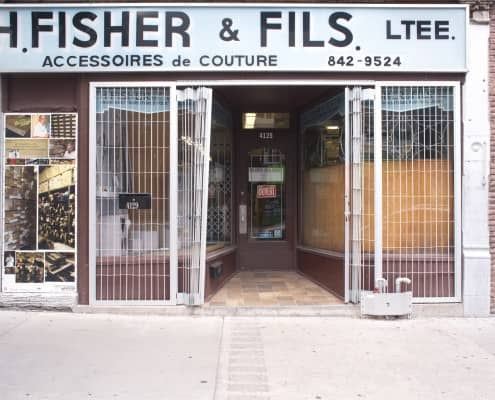 H. Fisher & Fils tailor supply store