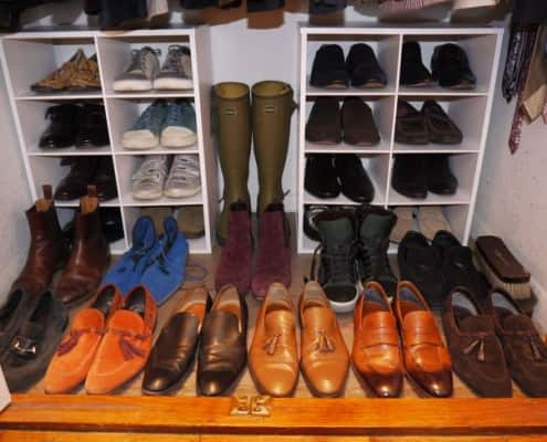 James Andrew's shoe collection