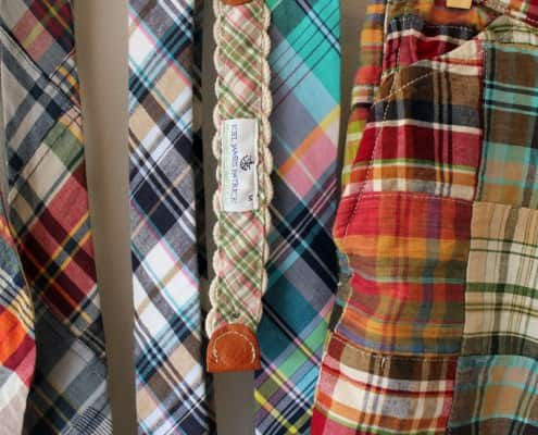 Madras Ties, bow ties & belts