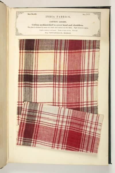 Madras in cotton from 1866 - Harris Museum