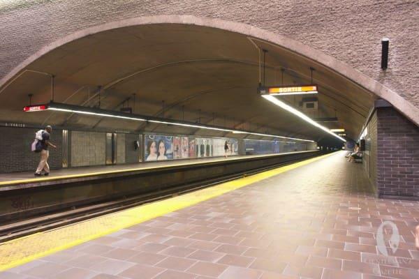 Metro Station Montreal