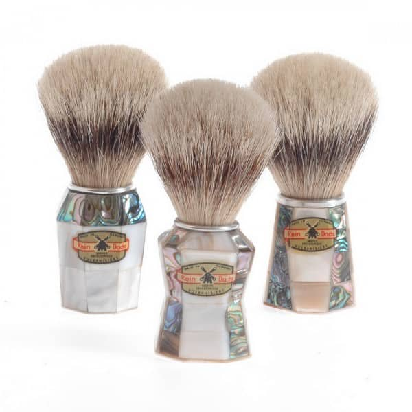 Muehle Mother of Pearl shaving brushes