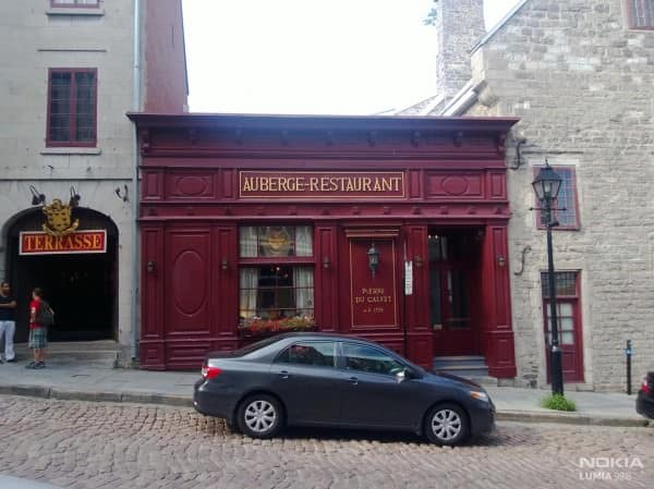 Old Town Montreal with cobble stone streets