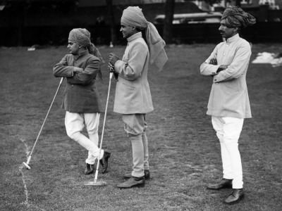 Polo servants in Jodhpurs