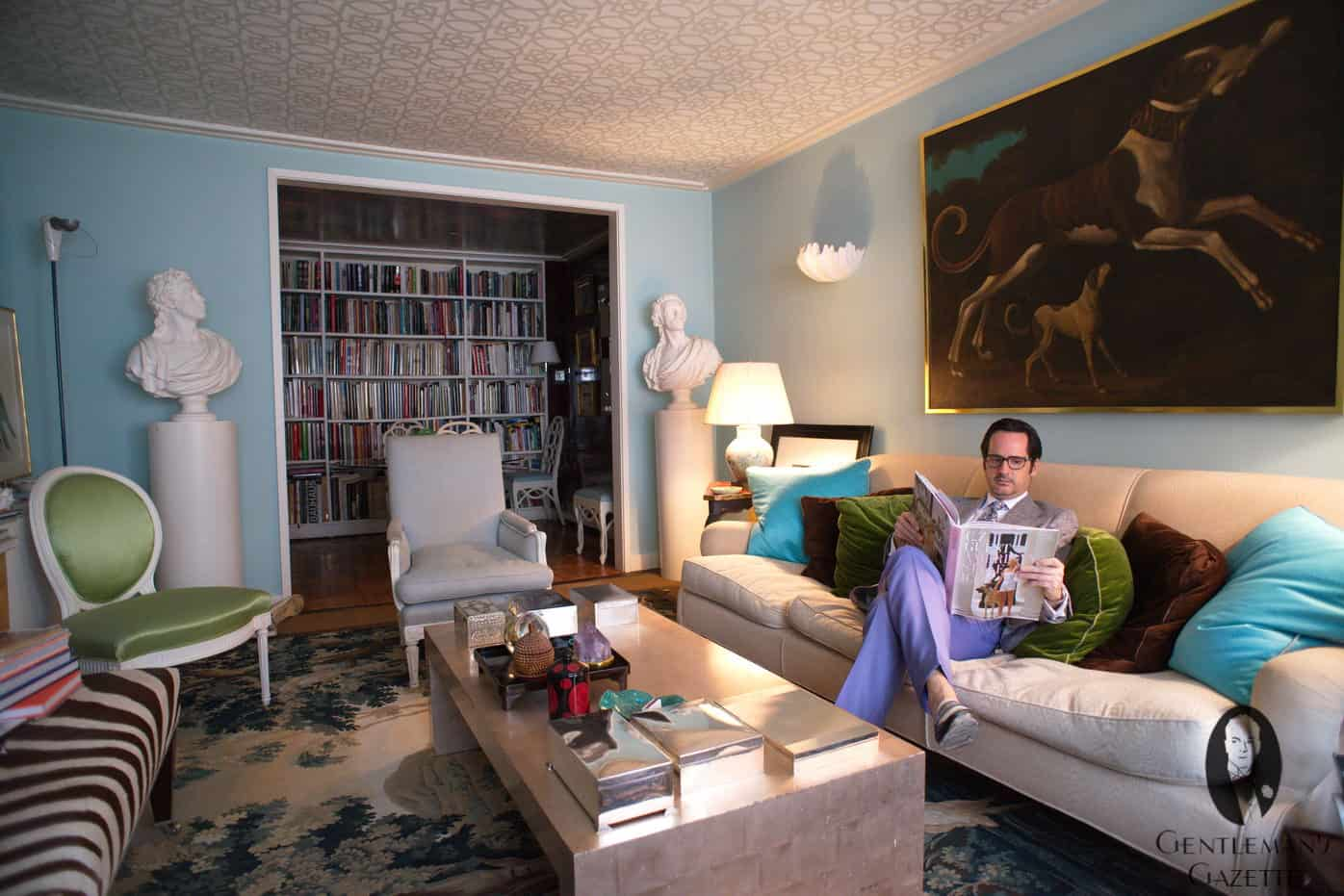 James Andrew Interior Designer Blogger Gentleman of Style