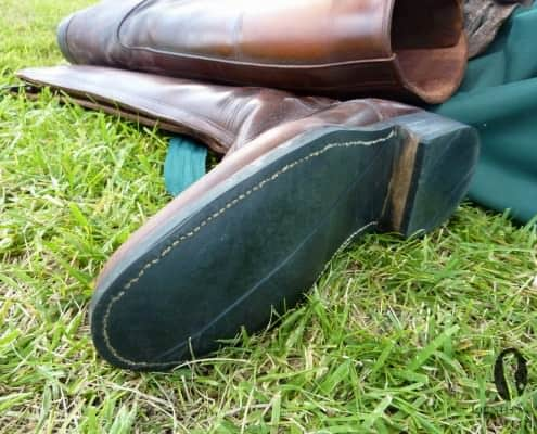 Zippered Polo boots handmade in Argentina