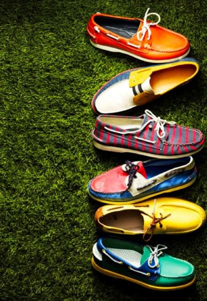 Boat Shoes in Patterns