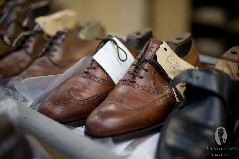 edward green shoes a factory visit � gentlemans gazette