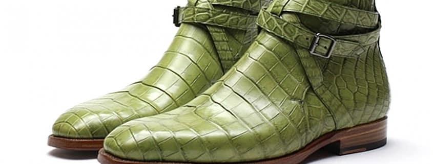 Fancy pair of Jodhpur in croc by Zonkey Boot