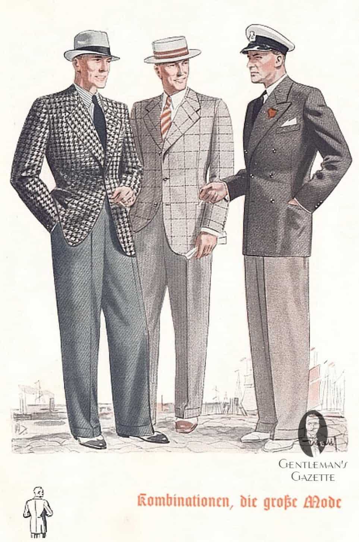 Men 39 S Summer Fashion How To Dress In The Thirties Forties Gentleman 39 S Gazette
