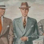 Men's Summer Fashion 1930's