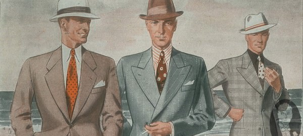 Men's Summer Fashion 1930's