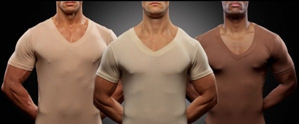 Sloane Men Invisible Undershirts