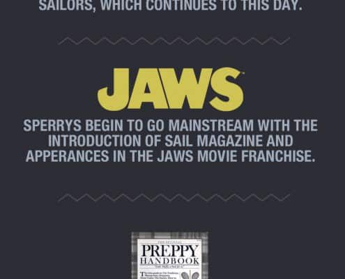 Sperry History Infographic