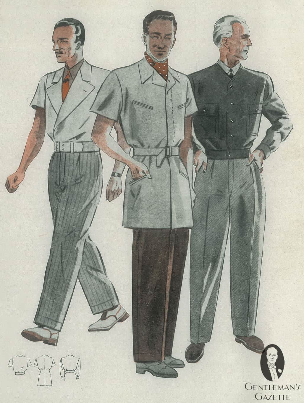 Men S Fashion 1930s: Men's Summer Fashion & How To Dress In The Thirties