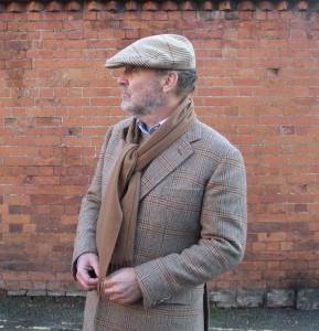 Cheviot Tweed Jacket Worn by Michael Alden