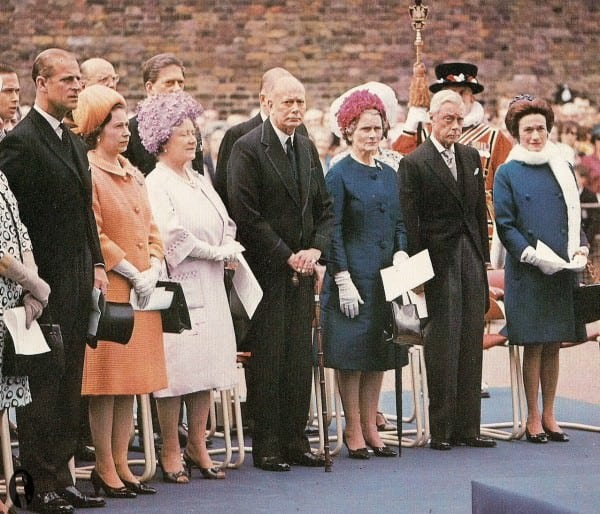 DoW in Morning Coat at Funeral 1967