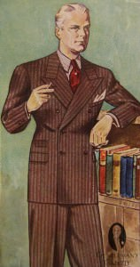 Double Breasted Suit in 1934