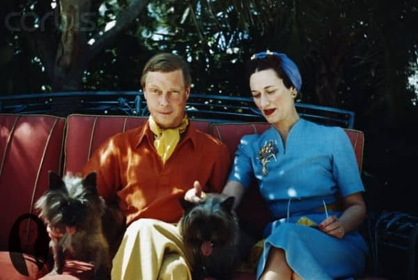 Duke and Duchess of Windsor with Dogs September 1941, Miami, Florida, USA